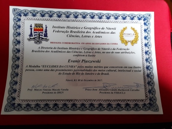 medalha diploma